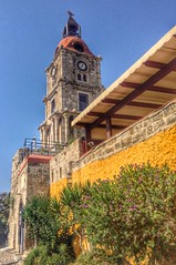 The Clock Tower, Rhodes Town (Keo6) Tags: