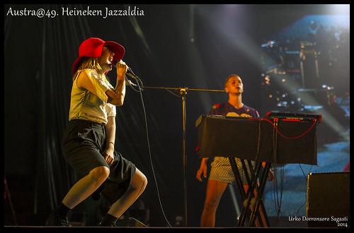 Austra@49. Heineken Jazzaldia