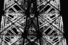 (dclcq) Tags: paris blackwhite construction lift elevator structure