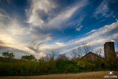 Rural Autumn Sky (jimcrotty.com) Tags: autumn sunset ohio sky fall beauty landscape peaceful grace dayton greenecounty jimcrotty raptorridge ohionaturephotography beavercreektownship