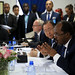 President of Somalia, H. E. Mr. Hassan Sheikh Mohamud and Secretary-General of the United Nations, Ban Ki-moon
