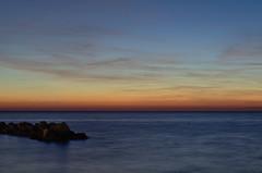 Calm Sea Sunset