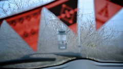 Live in a SUV - Early morning. (MIKI Yoshihito. (#mikiyoshihito)) Tags: camping camp japan hokkaido nissan 4x4 coleman suv murano awd lantan nissanmurano z51 suvlife 286a  coleman286a
