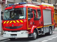 BSPP (Paris FD) - PS 214 (Engine/Rescue 214) (Arthur Lombard) Tags: rescue paris truck engi