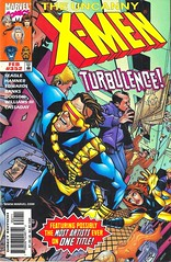 The Uncanny X-Men #352 Cover Turbulence! (See El Photo) Tags: blue people man color colour girl plane airplane book costume colorful comic colore crash dramatic super cyclops falling cover xmen comix hero comicbook superhero mutant draw drawn couleur turbulence inked comicbookcharacter jeangrey visors 352 theuncannyxmen
