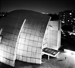 (ilConte) Tags: rome roma architecture night nacht architektur richardmeier notte architettura chiesadidiopadremisericordioso