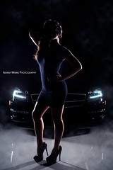 Melissa Teaser (Advent Works Photography) Tags: sexy benz model mercedesbenz imperial amg cls carmodel cls63 imperialcollision