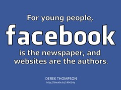Facebook is the Newspaper