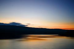 28 (peters_nikon) Tags: trip camping sunset blur colour water beautiful clouds landscape weekend colourful kielder