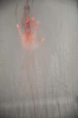 Bloody Mary (AngelBeil) Tags: halloween water shower hand horror bloody bloodymary
