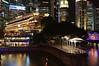 Fullerton Hotel And CBD At Night (a.rutherford1) Tags: city urban night digital dark lowlight nikon singapore asia forsale ambientlight tropical neonlights afterdark slowshutterspeed d300 republicofsingapore exposuretime13sec modelnikond300 photosfromflickrgmailcom fnumberf14 lens1224mmf4040