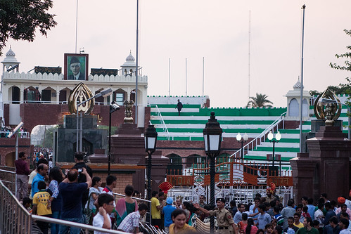 India Pakistan border at Wagah, Amritsar