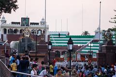 India Pakistan border at Wagah, Amritsar