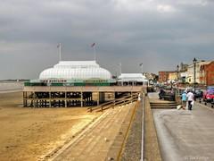 Short pier (Ian Gedge) Tags: uk sea england english pier seaside britain somerset short british seafront burnhamonsea