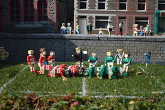 Welsh Rugby (CoasterMadMatt) Tags: pictures park uk greatbritain autumn england sculpture english wales out photography amusement site model october day lego photos unitedkingdom britain rugby united bricks great models structures property kingdom mini structure photographs merlin gb land theme windsor amusementpark match british berkshire sculptures themepark scrum attraction legoland dayout 2014 legolandwindsor rugbymatch miniland legobricks madefromlego inlego october2014