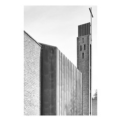 Leicester Modernism (Barnaby Nutt) Tags: road church catholic leicester modernism wilson 1978 te modernist hinckley tewilson