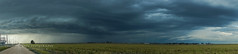 Panhandle Stormscape (Chains of Pace) Tags: storm oklahoma clouds rural sony panoramic prairie panhandle guymon