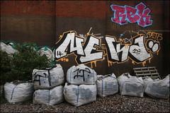Rek / Neka (Alex Ellison) Tags: urban graffiti boobs railway line chrome graff trackside rek neka northwestlondon 1t nekah neks