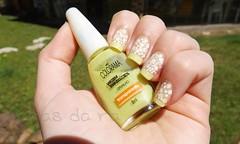 O: Orvalho - Colorama. (Rassa S. (:) Tags: verde branco chartreuse nails jelly nailpolish unhas transparente dote esmalte colorama cremoso passenati desafioabcunhas