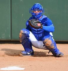 KC ullpen catcher cup (jkstrapme 2) Tags: jockstrap cup jock baseball candid crotch catcher grab adjustment bulge adjust
