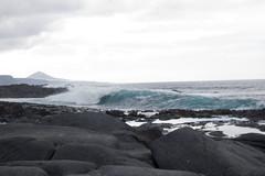 PUERTILLO (susitagarcian1995) Tags: las azul mar agua playa olas piedras palmas marrones puertillo