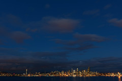 Home. (Mitchell Corsack | MAC Photography) Tags: seattle park city skyline night clouds landscape photography long exposure time space hamilton needle scape viewpoint