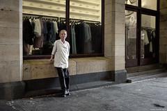 Relaxing (Ranga 1) Tags: city portrait urban canon women australian streetphotography australia melbourne streetscene victoria smoking urbanlandscape davidyoung kitchenworker ef24105mmf4lusm canoneos5dmarkiii