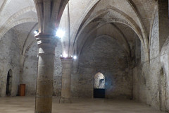 Onder in het kasteel