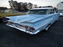 1960 Chevrolet Impala hardtop sedan (sv1ambo) Tags: chevrolet hardtop sedan drivein blacktown impala 1960 americangraffiti atura