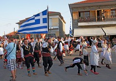 Greece, Macedonia,  Florina,  pan macedonian gathering on the roads of Sitaria village, (Macedonia Travel & News) Tags: macedonia ancient culture vergina sun florina hellenic republic mavrovo nato eu fifa uefa un fiba greecemacedonia macedonianstar verginasun aegeansea peoplemacedonia macedonianpeople people macedonians macedoniablog 877524n macedoniagreece makedonia timeless macedonian macédoine mazedonien μακεδονια македонија travel prilep tetovo bitola kumanovo veles gostivar strumica stip struga negotino kavadarsi gevgelija skopje debar matka ohrid heraclea lyncestis macedoniatimeless