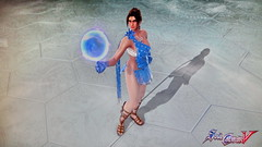 Ishtar A, the wife of Hecliff in SoulCalibur V (Cliffather) Tags: videogame ishtar genie soulcalibur virtualgirl playstation3game