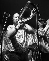 Trombonist Adam Dotson (SEVEN26) Tags: trombone horn red7 rubblebucket