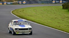 Ian Blacklin, Ford Capri MK I 3.0L - 3, KH 5/10/14 (djbsteele) Tags: ford capri knockhill fordcaprimk130litre