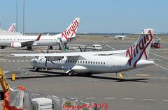 A.T.R 72-600 VH-FVQ Virgin Australia (EI-DTG) Tags: oz sydney australia syd sydneyairport atr planespotting atr72 aircraftspotting virginaustralia 09oct2013 vhfvq