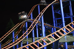 Sonic Spinball (CoasterMadMatt) Tags: park uk greatbritain autumn england motion blur english halloween up night speed dark photography lights amusement nikon october slow time photos unitedkingdom britain united great towers illumination kingdom sonic illuminated resort event motionblur photographs shutter gb roller theme amusementpark moors british rollercoaster lit coaster staffordshire alton themepark altontowers attraction attractions coasters rollercoasters slowshutterspeed 2014 litup inthedark nikond3200 moorlands staffs nighttimephotography spinball halloweenevent staffordshiremoorlands d3200 scarefest sonicspinball altontowersresort altontowersscarefest coastermadmatt october2014 coastermadmattphotography altontowersrollercoasters