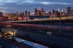 train yard night (eligit) Tags: nyc queens