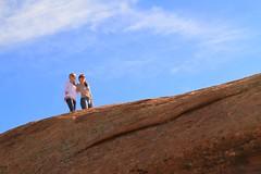 Scenic Beauty (Alan Szalwinski) Tags: girls landscape utah canyonlandsnationalpark archesnationalpark beautifulgirls fins coloradoplateau moabutah doubleoarch