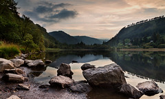 Glendalough Lower Lake (fearghal breathnach) Tags: ireland lake reflection canon reflections photography eos woods pov glendalough 5d 24mm wicklow 24105 eos5d 24105mm ef24105mmf4lisusm fearghalbreathnach glendaloughlake glendaloughvalley