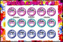 birthday (DigiGraphics4u) Tags: jewelry etsy digitalimages keychains printables editable hairbows alphaletters digigraphics4u