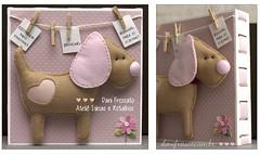 Quadrinho (Dani_Fressato) Tags: dog craft felt cachorro feltro tecido trabalhomanual retalho ideia danifressato