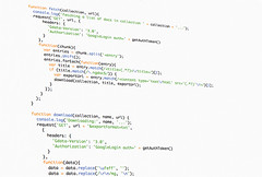 AngularJS Code II (Kovah.de) Tags: color colors java code software font schemes ide hacker editor opensource hacking typeface coding javascript monospace github angularjs