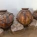 Jarros de ceramica para a produçao de vinho