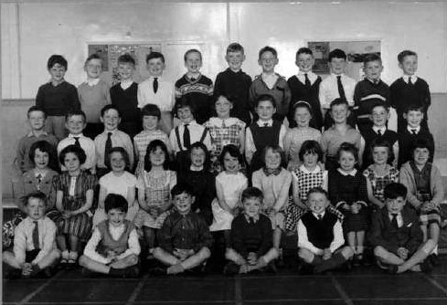 Danny McGarrigle at St Phillips School Ruchazie. 1960?s