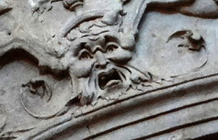 Salamanca - Convento de San Esteban (Sheepdog Rex) Tags: salamanca doorways greenman conventodesanesteban