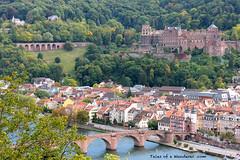 HEIDELBERG - Philosophenweg - Alte Brcke / Brckentor / Heidelberger Schloss (Tales of a Wanderer) Tags: germany deutschland alemania heidelberg baden senderodelosfilosofos