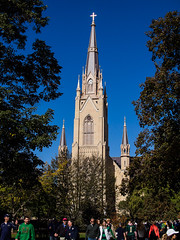 Sacred Heart Basilica at Notre Dame (jck_photos) Tags: usa building church architecture america us unitedstates basilica unitedstatesofamerica structures indiana architectural northamerica edifice edifices placeofworship universityofnotredame sacredheartbasilica religiousbuilding