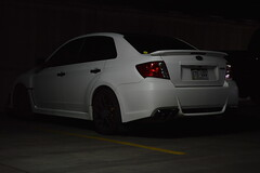 In the shadows (sean.m.c photography) Tags: white black nikon colorado mine garage fast denver subaru parked spotted wrx loud d3200 worldcars