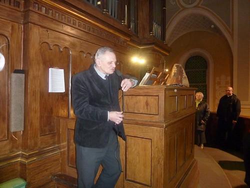 Wyprawa do wnętrza organów oprowadza dr Marek Urbańczyk