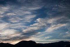 Spectacle ...tt le matin   (early morning show) (Larch) Tags: show blue sky cloud white mountain france alps montagne alpes sunrise landscape scenery bleu ciel nuage paysage blanc leverdesoleil spectacle hautesavoie