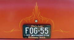 1955 210 Chevy (bballchico) Tags: 1955 chevrolet gasser dragstrip dragcar racecar dg 555 dennisthemenace pinstripe arlingtondragstripreunionandcarshow 2014 206 washingtonstate arlingtonwashington